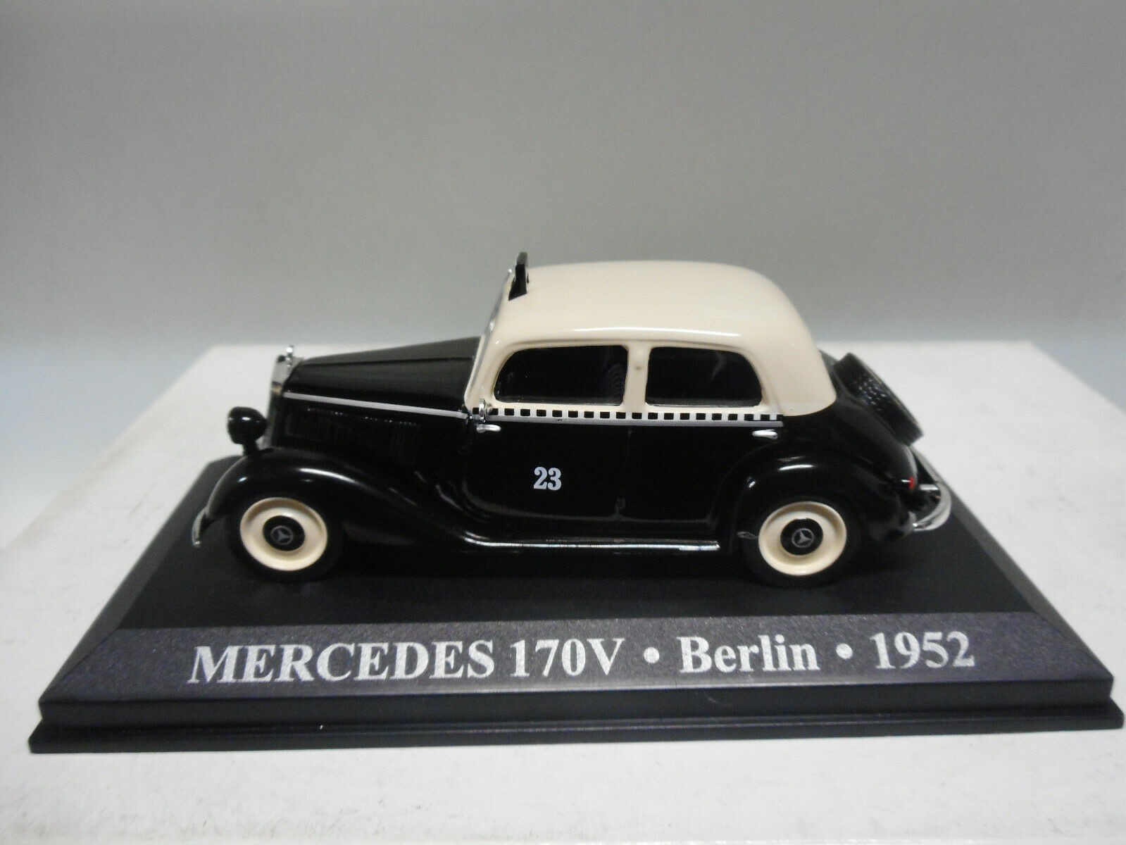 MERCEDES-BENZ 170V TAXI BERLIN 1952 ALTAYA IXO 1:43