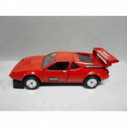 BMW E26 M1 BASF RENNAUSFÜHRUNG RED GREEN GAMA 1109 1:43