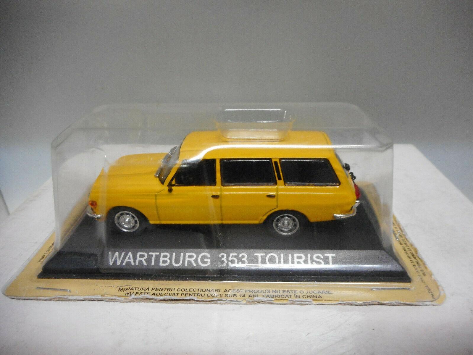 thumbnail 30 - Wartburg 311, 311-2, 313/1, 353 saloon/tourist/trans pick up atlas ixo 1:43