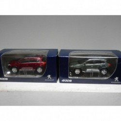 PEUGEOT 4008 ROUGE GRIS ROUGE 3 INCHES