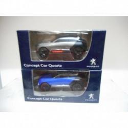 PEUGEOT CONCEPT CAR QUARTZ 2014 SALON PARIS BLEU GRIS NOREV 3 INCHES