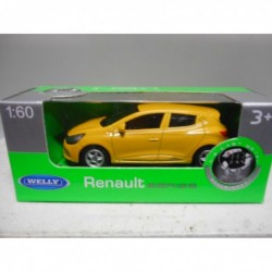 RENAULT CLIO RS YELLOW WELLY 1:60