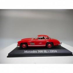 MERCEDES-BENZ 300 SL W198 GULLWING RED 1954-63 CLASICOS POPULARES 1/43 RBA IXO