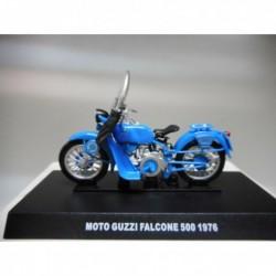 MOTO GUZZI FALCONE 500 POLICIA STRADALE MOTO BIKE 1976 DeAGOSTINI 1/24