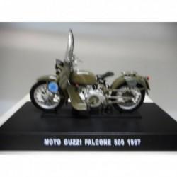 MOTO GUZZI FALCONE 500 POLICIA STRADALE MOTO BIKE 1967 1/24 DeAGOSTINI