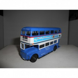 AEC ROUTEMASTER SOUTHEND TRANSPORT 29-EAST WOOD EFE MODELLE BUS 1:76