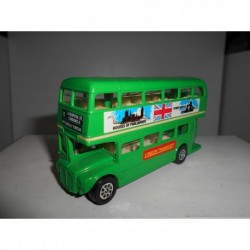 ROUTEMASTER LONDON BUS 12-PICCADILLY CIRCUS GREEN SEEROL DIECAST MODELLE BUS