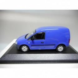 VOLKSWAGEN CADDY 2005 BLUE MINICHAMPS VW DEALER 1:43