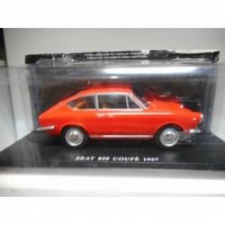 SEAT 850 COUPÉ 1967 AUTO VINTAGE INOLVIDABLES SALVAT HACHETTE 1/24