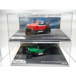OPEL 4/12 PS LAUBFROSCH 1924-26 OPEN CLOSED EAGLEMOSS IXO 1:43