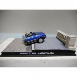 "RENAULT 11 TAXI A VIEW TO A KILL ""GIFT"" JAMES BOND 007 DeAGOSTINI IXO 1:43"