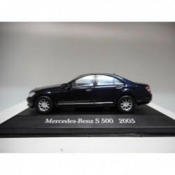 MERCEDES-BENZ S 500 2005 MERCEDES DeAGOSTINI IXO 1:43