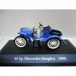 40 HP MERCEDES-SIMPLEX 1902 DeAGOSTINI IXO 1:43