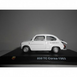 FIAT ABARTH 850 TC 1963 ABARTH COLLECTION HACHETTE 1:43 HARD BOX