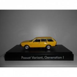 VOLKSWAGEN PASSAT VARIANT B1 1973-80 YELLOW MINICHAMPS VW DEALER 1:43