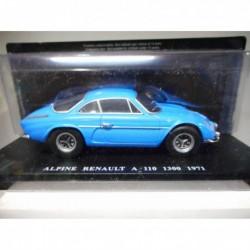 ALPINE A110 1300 1971 AUTO VINTAGE INOLVIDABLES SALVAT HACHETTE 1/24
