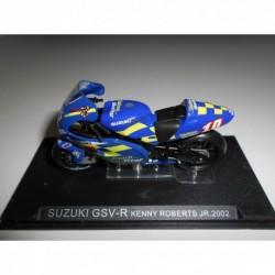 SUZUKI GSV-R KENNY ROBERTS JR 2002 BIKE MOTO ALTAYA IXO 1/24