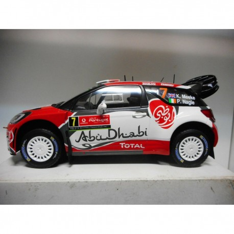 CITROEN C3 WRC RALLY PORTUGAL 2016 n7 K.MEEKE ALTAYA IXO 1:18