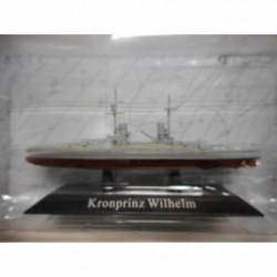 ACORAZADO WARSHIP SMS KRONPRINZ WILHELM 1914-19 1:1250 ATLAS De AGOSTINI n54