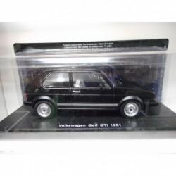 VOLKSWAGEN GOLF 1 GTI 1981 AUTO VINTAGE INOLVIDABLES SALVAT HACHETTE 1/24