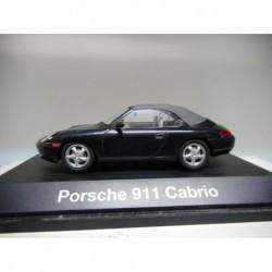 PORSCHE 911 CABRIO SOFTTOP BLACK SCHUCO 1:43