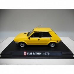 FIAT RITMO 1979 YELLOW AUTOPLUS IXO 1:43 HARD BOX
