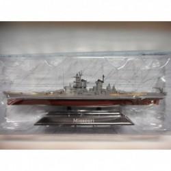 ACORAZADO WARSHIP BB-63 MISSOURI 1944-86 1:1250 ATLAS De AGOSTINI n17