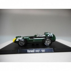 VANWALL VW57 STIRLING MOSS 1957 FORMULA F1 RBA 1:43