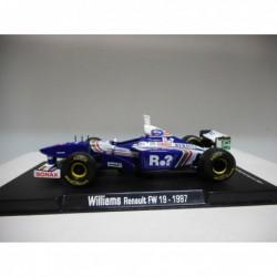 WILLIAMS RENAULT FW19 JACQUES VILLENEUVE 1997 FORMULA F1 RBA 1:43