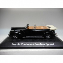 LINCOLN CONTINENTAL SUNSHINE SPECIAL PRESIDENTIAL CARS ROOSEVELT 1945 ATLAS 1:43