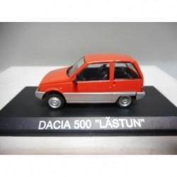 DACIA 500 LASTUN RED 1985-89 DeAgostini IXO 1:43