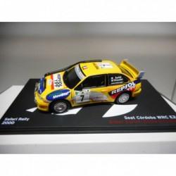SEAT CORDOBA WRC E2 EALLY SAFARI 2000 DIDIER AURIOL DeAGOSTINI IXO 1/43