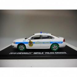CHEVROLET IMPALA POLICE 2010 TV-SERIE HAWAII 5-0 GREENLIGHT 1:43 GREEN WHEELS