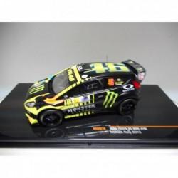 FORD FIESTA RS WRC RALLY MONZA 2013 n46 V.ROSSI IXO RAM619 1/43