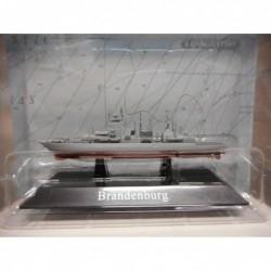 FRAGATA WARSHIP F215 BRANDENBURG 1994- 1:1250 ATLAS De AGOSTINI n50