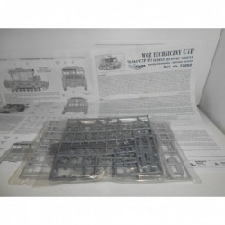 k33 C7P TRACTOR (P) GERMAN RECOVERY VEHICLE MIRAGE HOBBY 72892 FULL KIT NEW 1:72