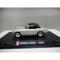 HONDA S800 SILVER 1967 AUTOPLUS IXO 1:43