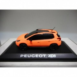PEUGEOT 2008 ORANGE MATT 2013 SALON GENEVE NOREV 1:43