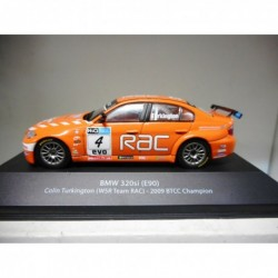 BMW 320si E90 C.TURKINGTON 2009 BTCC CHAMPION BRITISH TOURING ATLAS n08 1:43