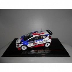 FORD FIESTA RS WRC n17 RALLY MONTE CARLO 2016 BOUFFIER IXO RAM629 1:43