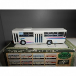 MITSUBISHI MP218/618 RED/BLUE KEIO THE BUS COLLECTION TOMITEC 1:150 N-SCALE