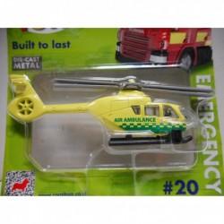 AIR AMBULANCE HELICOPTER n20 CORGI TOYS TY669