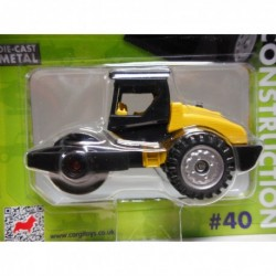 ROAD ROLLER YELLOW n40 CORGI TOYS TY669