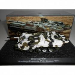 STRV-103B MBT SKARABORGS REG P-4 SWEDEN 1977 n11 MILITARY DeAGOSTINI 1:72