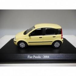 FIAT PANDA 2004 FIAT STORY NOREV HACHETTE 1:43 HARD BOX