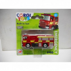 SCANIA FIRE ENGINE RED n46 CORGI TOYS TY669