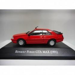 RENAULT FUEGO GTA MAX 1991 80/90 ARGENTINA SALVAT 1:43
