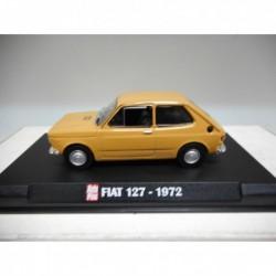 FIAT 127 1972 BROWN AUTOPLUS IXO 1:43 HARD BOX