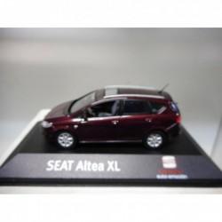 SEAT ALTEA XL 2006-2013 AUTOEMOCION DELHI RED FISCHER DEALER SEAT 1/43