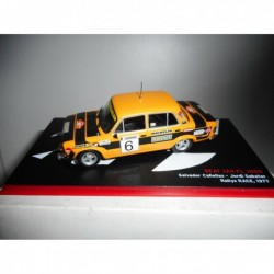 SEAT 124 FL 1800 RALLY RACE 1977 CAÑELLAS ALTAYA IXO 1/43